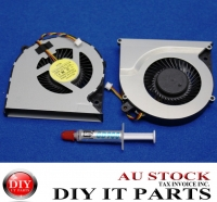 Toshiba Satellite C850 L850 3 Pin CPU Fan and Thermal Paste New